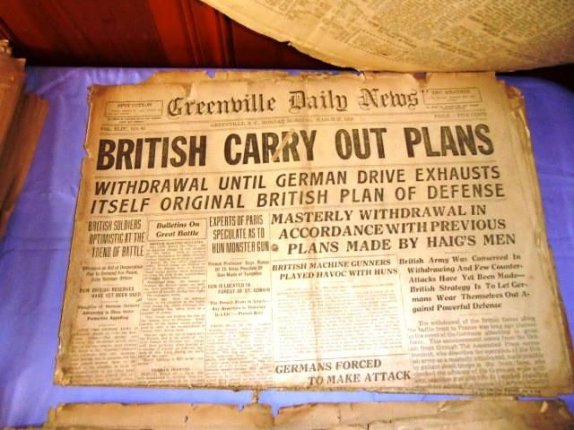 British Carry Out Plans