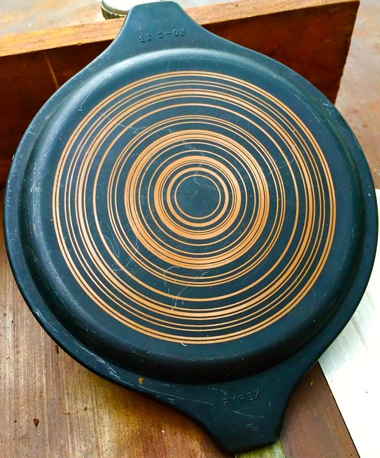 Vintage Pyrex Terra Blue