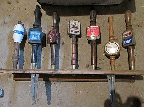 Vintage Beer Taps