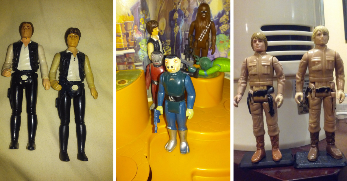 The Force of Star Wars Collectibles