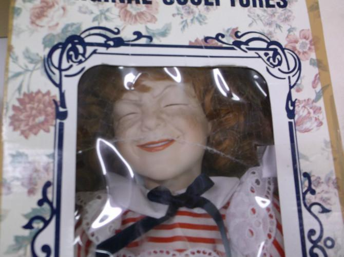 Creepy Boy Doll