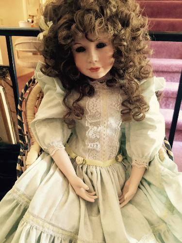 Creepy Porcelain Doll
