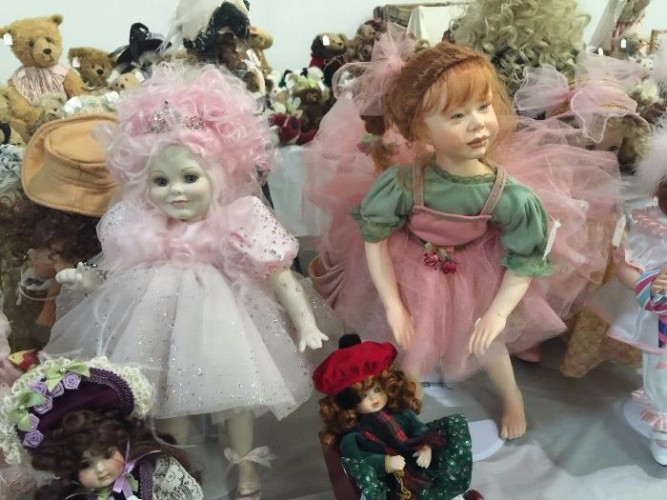 Creepy Fairy Dolls