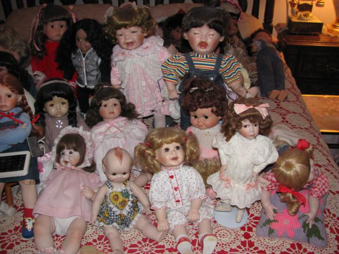 Creepy Dolls Crying