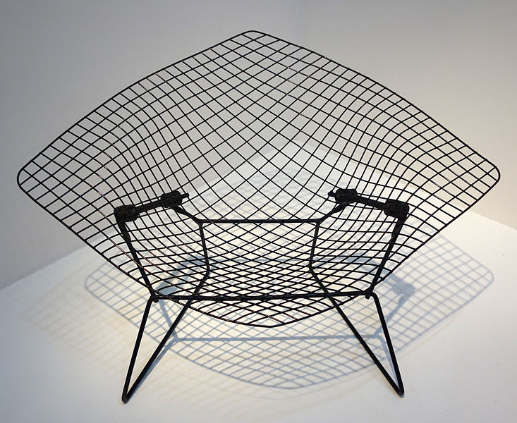 Henry Bertoia Diamond Chair