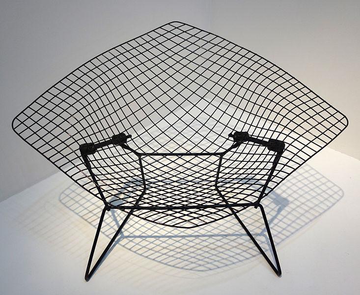 Henry Bertoia Diamond Chair