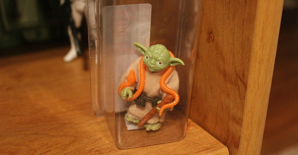 Vintage Yoda Collectible