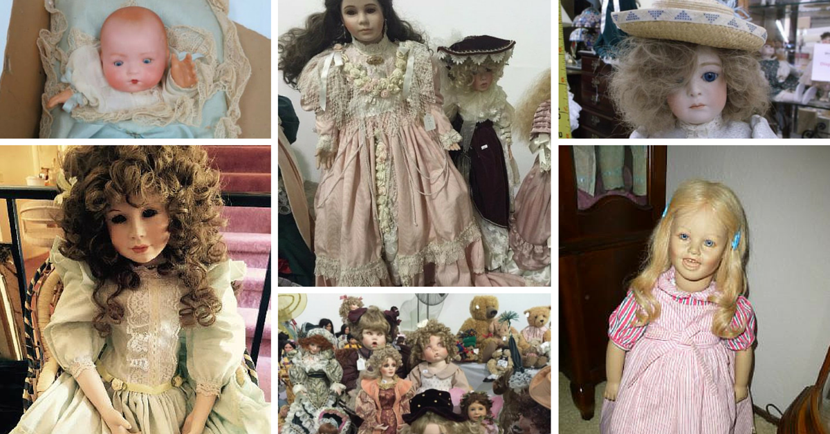 35 of the Creepiest Dolls from Estate Sales