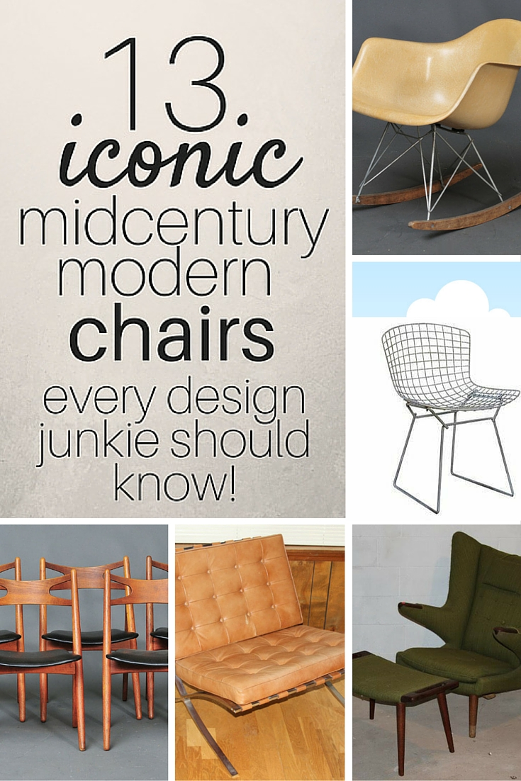 13 iconic midcentury modern chairs