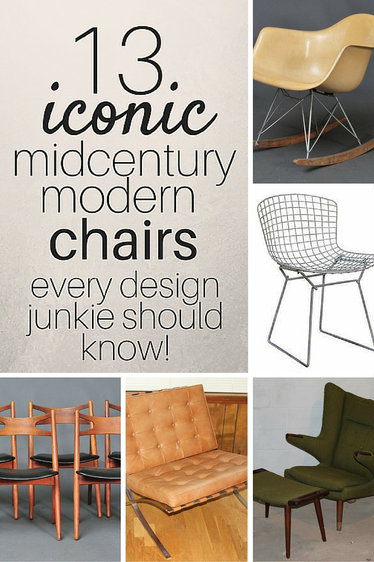 Mid century modern chairs midcentury modern chair mid for Iconic mid century modern furniture
