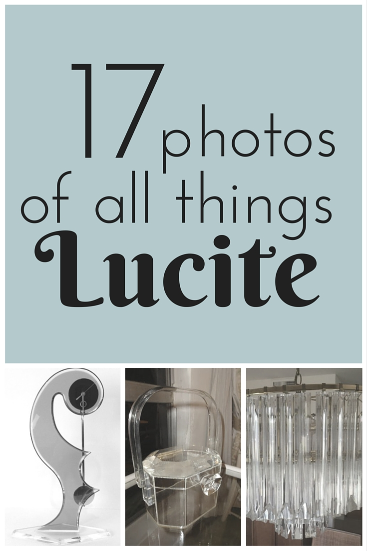 17 Photos Of All Things Vintage Lucite Estate Blog