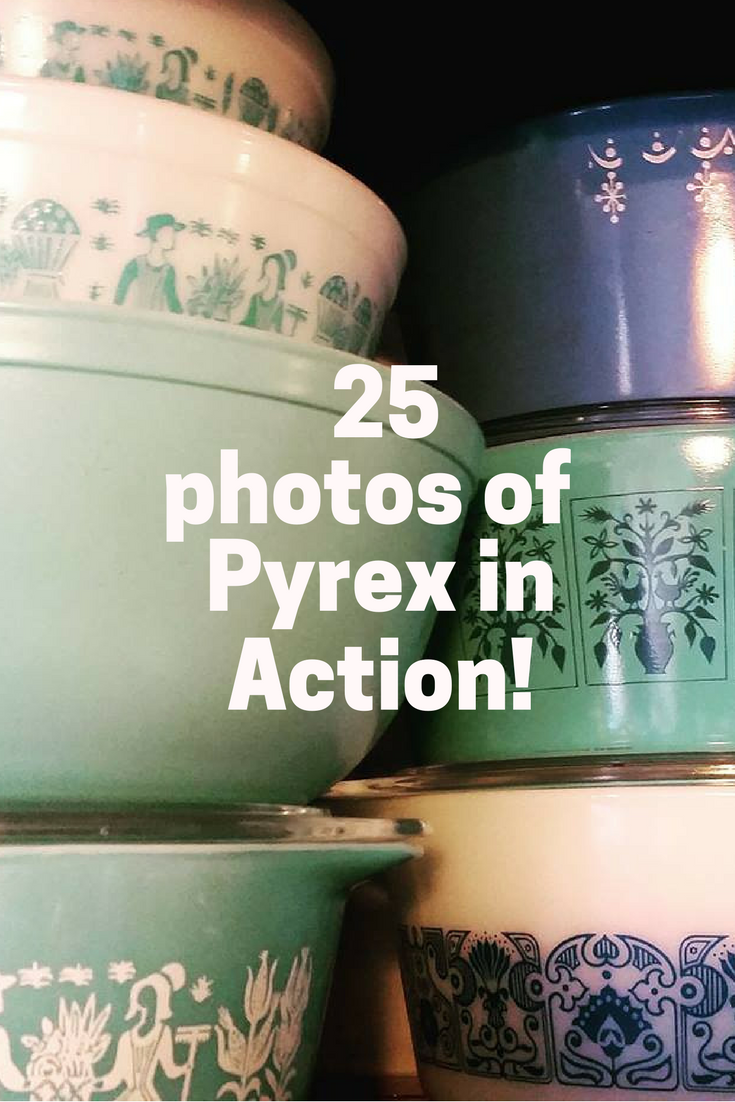 Pinterest Pyrex in Action
