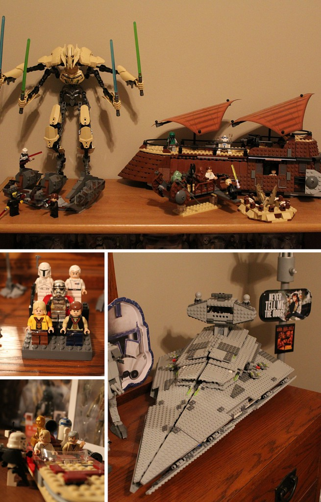 Lego Star Wars collectibles