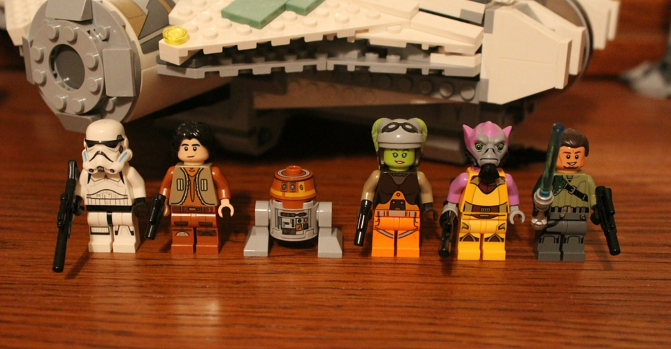 Lego Star Wars Rebels collectibles