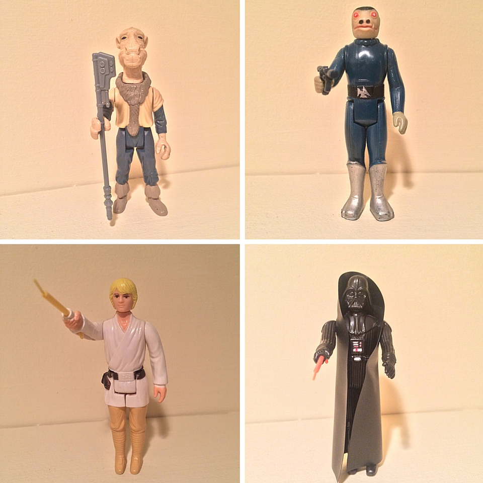 Star Wars Vintage Toys : The force of star wars collectibles estate sale