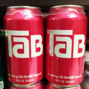 Tab soda can