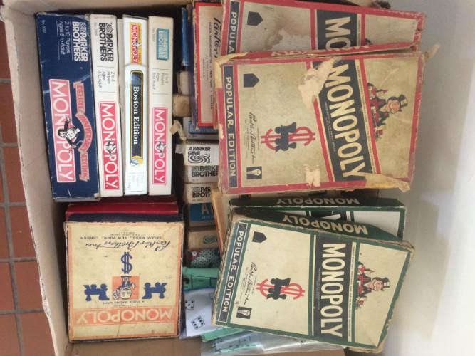 Vintage Monopoly Board Games