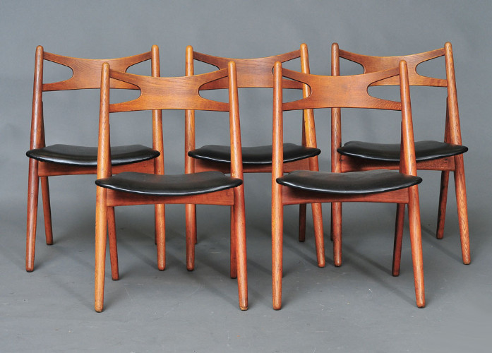Wegner Saw Buck Chairs