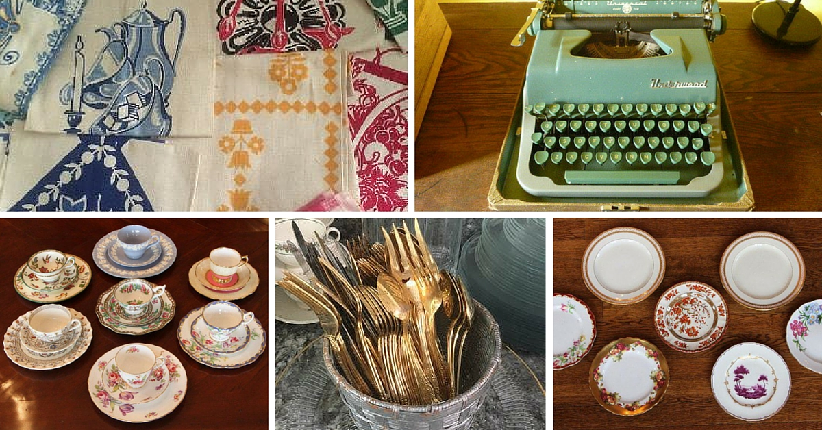 DIY Vintage Weddings from Estate Sales