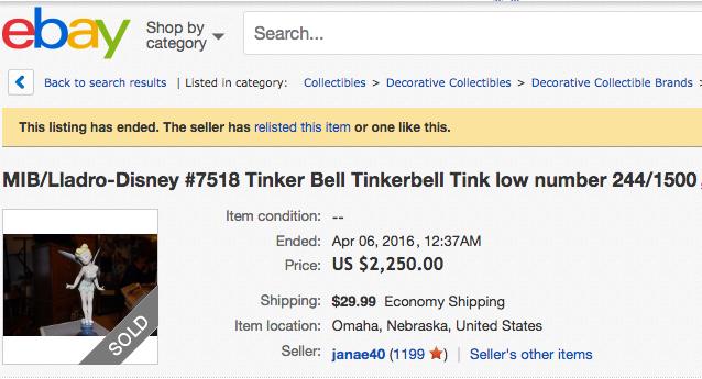 Tinkerbell Lladro
