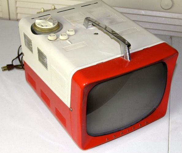 1950s Admiral Portable TV