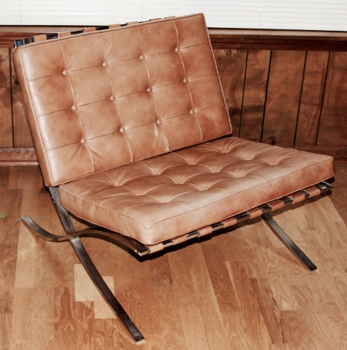 This iconic chair, designed by Ludwig Mies van der Rohe and Lilly Reich, is named after which cosmopolitan locale?