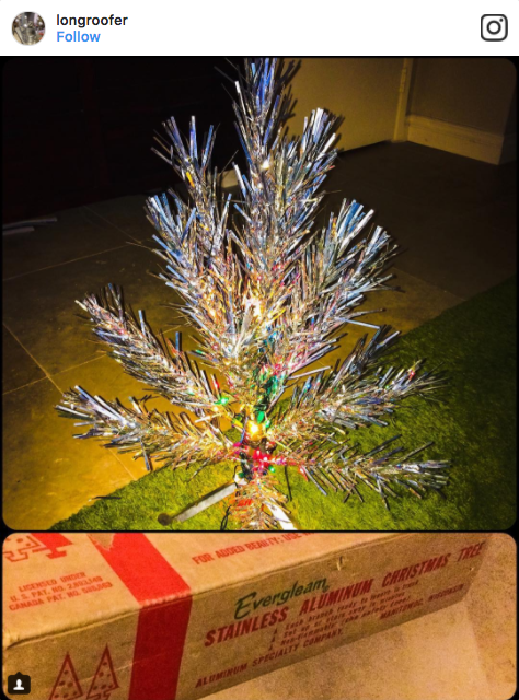 Evergleam Aluminum Christmas Tree