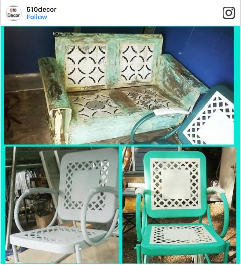 510Decor Vintage Patio Furniture
