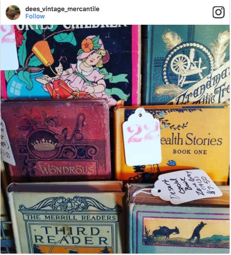 DeesVintageMercantile Vintage Books