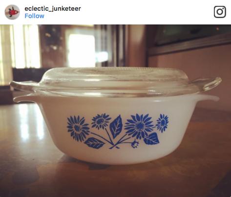 EclecticJunketeer Fire King Casserole Dish