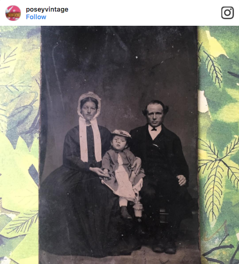 PoseyVintage Antique Photograph