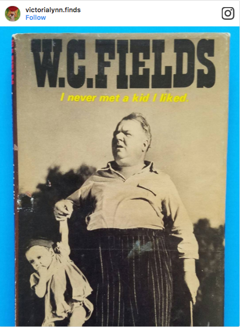 VictoriaLynnFinds Vintage WC Fields