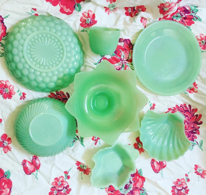 Assorted Jadeite Pieces