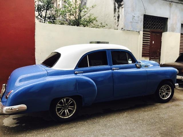Classic Cars - blue