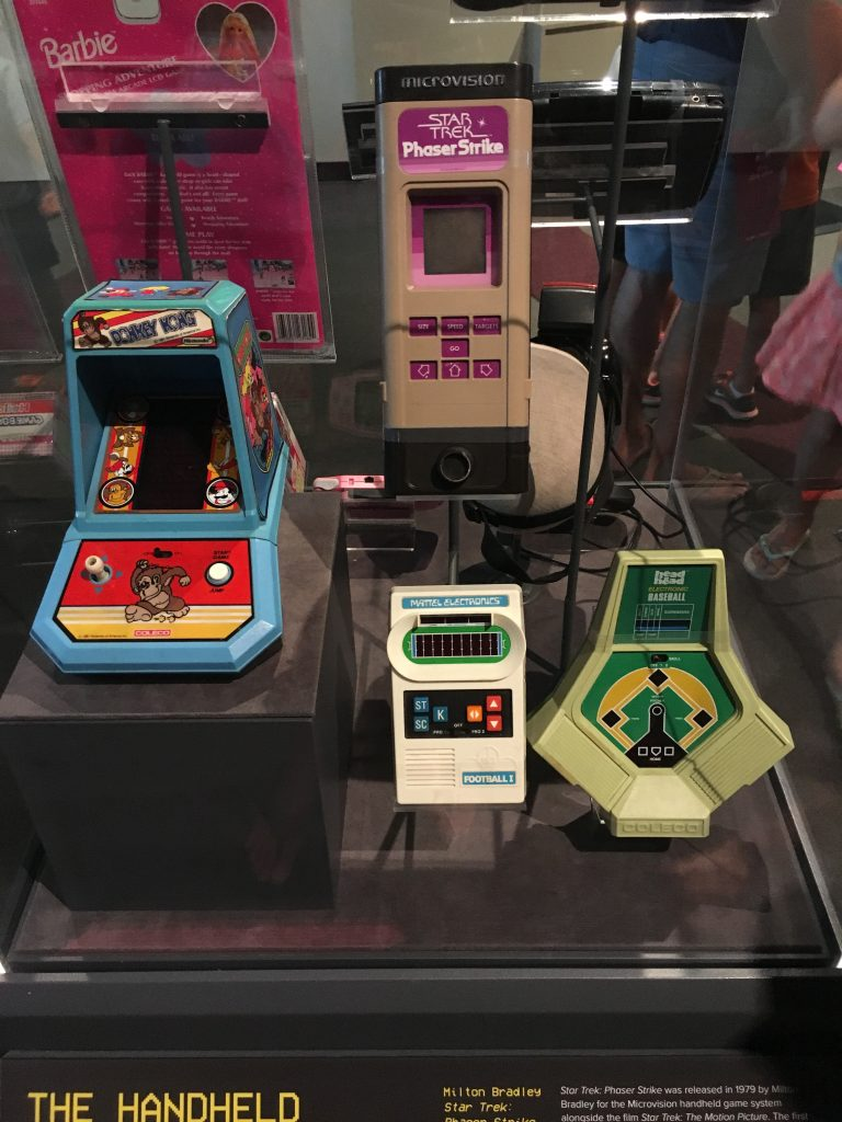 four vintage video games