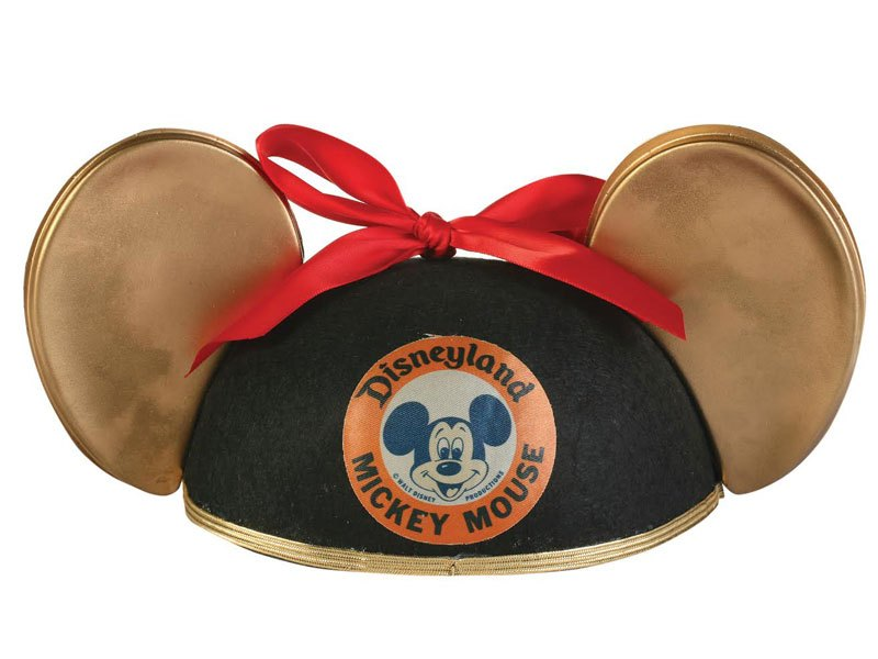 """Bronzed"" Mouse Ears worn by original Mickey Mouse Club member Annette Funicello"