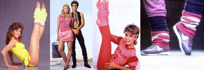 Vintage 80s Leg Warmers