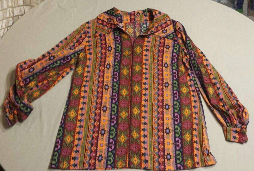 Vintage hippie shirt