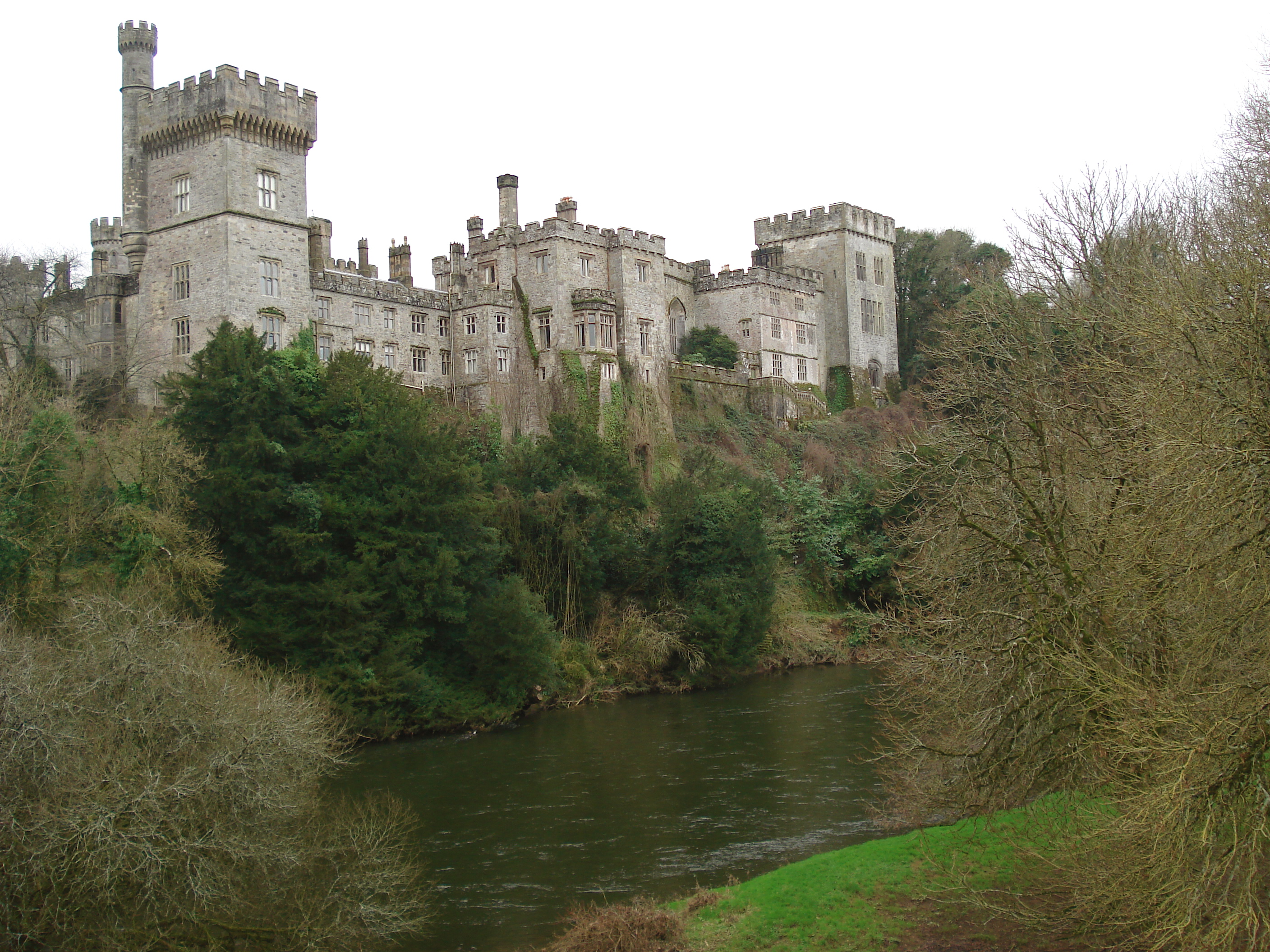 Lismore Castle in Waterford County