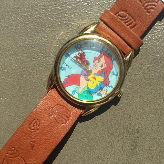 """Vintage """"The Little Mermaid"""" watch"""