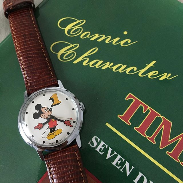 Mickey Mouse watch 1960s - 1970s