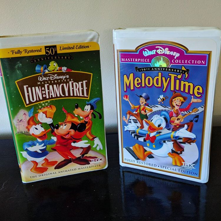 The Walt Disney Masterpiece Collection Rare Disney VHS tapes