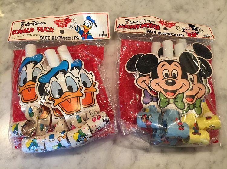 Disney party face blowouts