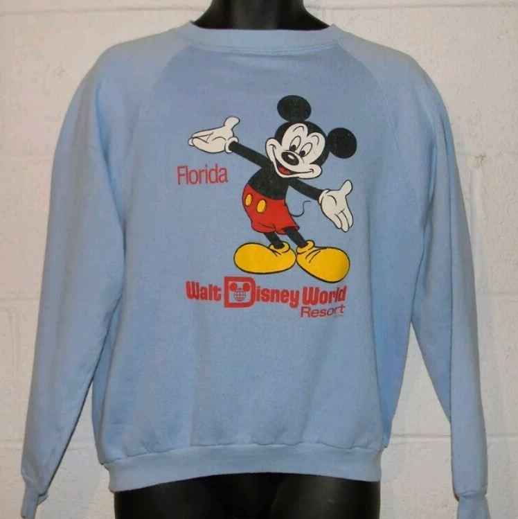 1980s vintage Disney sweatshirt