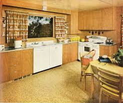 Wooden kitchen from the 70s