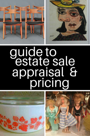Guide to Estate Sale Appraisal & Pricing