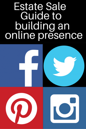 estate sale guide to building an online presence