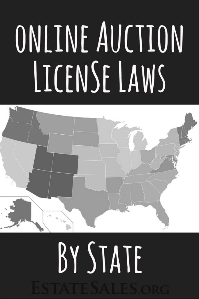 Online Auction License Laws