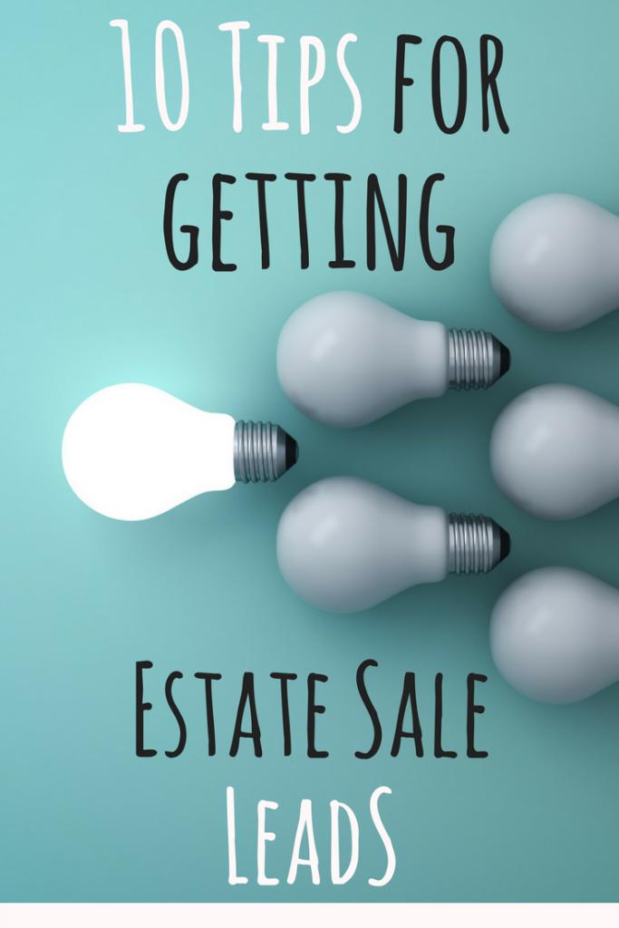 Estate Sale Leads