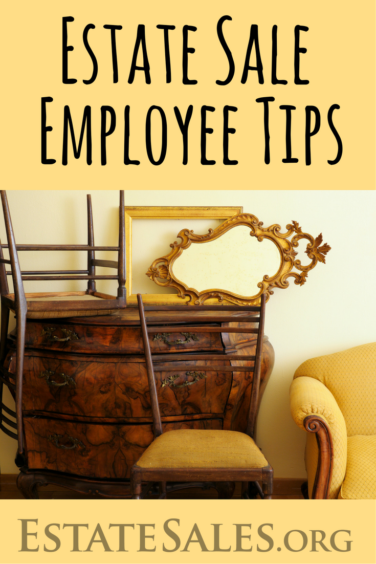 Estate Sale Employee Tips